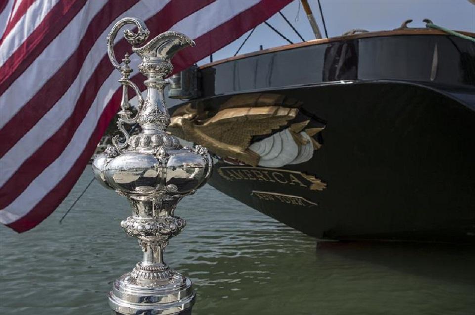 Matteo Plazzi e la storia dell'America's Cup